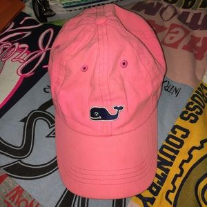 Vineyard vines hot pink hat
